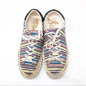 Sam Edelman | Women Kavi Jute Sneakers Size 8